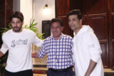 Sidharth Malhotra and Karan Johar Spotted at Ministry Cave, Khar