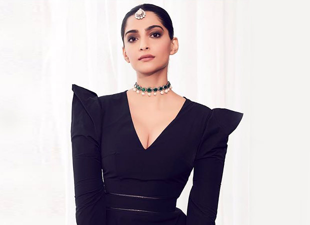 Sonam Kapoor looks breathtakingly beautiful in a Marmar Halim evening gown in Doha
