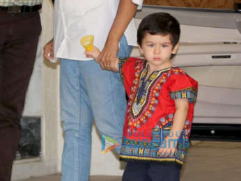 Taimur Ali Khan spotted in Bandra