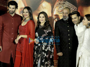 Team of Kalank snapped at the teaser launch at PVR, Juhu