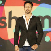 Tiger Shroff does a high kick at the Matrix Fight Night and we're wondering if there's anything he can't do