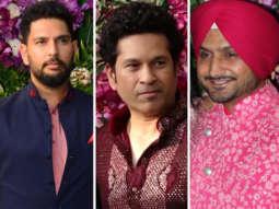 UNCUT Indian Cricket Team at Akash & Shloka's Wedding Reception Sachin, Harbajan, Yuvraj, Zaheer