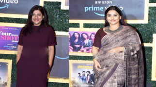 Vidya Balan & Zoya Akhtar and others attend the Amazon Prime panel discussion