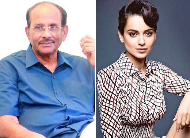 Vijayendra Prasad confirms he's writing Kangana Ranaut biopic