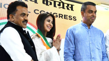 WATCH Actress Urmila Matondkar's GRAND Welcome at Congress Office