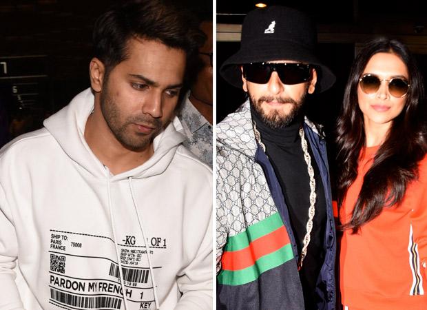 WATCH Varun Dhawan calls Deepika Padukone and Ranveer Singh as his 'adopted parents' and it's hilarious