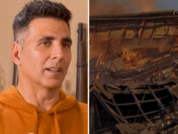 WATCH: Akshay Kumar REVEALS how Kesari set was burnt to ashes