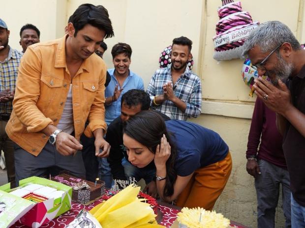 WATCH: Shraddha Kapoor celebrates her birthday with Sushant Singh Rajput and Chhichhore team
