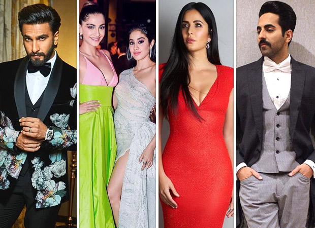 Who Wore What Check out what your favorite celebrities like Ranveer Singh, Katrina Kaif, Vicky Kaushal, Sonam Kapoor and more wore for the Hello Hall Of Fame Awards 2019