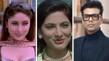 """Kareena Kapoor's character, 'Poo' in Kabhi Khushi Kabhie Gham was inspired by Miss. Briganza""- says Karan Johar on The Kapil Sharma Show"