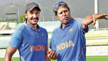This picture of Ranveer Singh with Kapil Dev from the sets of '83 will make you curious about the film!