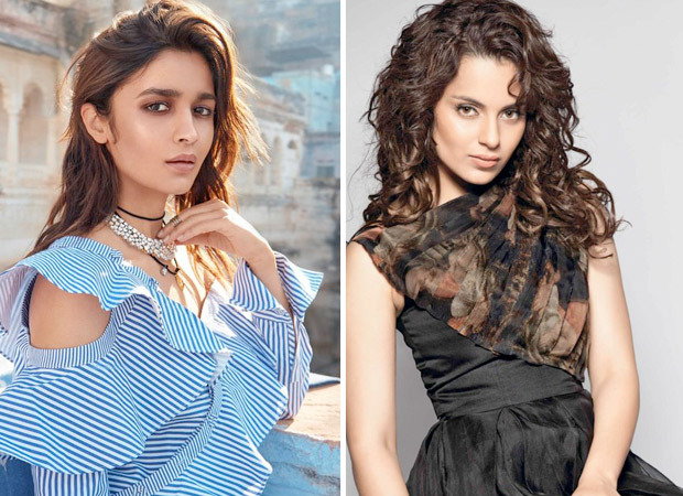 Alia Bhatt reacts to Kangana Ranaut's statement on calling her 'mediocre'