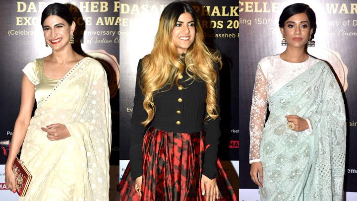 Ananya Birla, Aahana Kumra, Amrita Rao & others at Dadasaheb Phalke Awards 2019