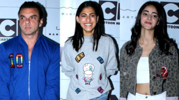Ananya Pandey, Kubra Sait, Sohail Khan & others at Nandita Mahtani's new collection launch for Cartoon Network