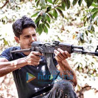On The Sets from the movie Captain Vikram Batra Biopic