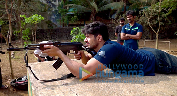 On The Sets Of The Movie Captain Vikram Batra Biopic