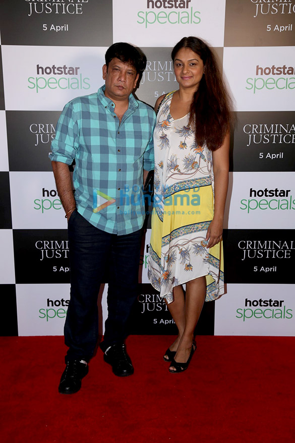 Celebs grace the screening of Hotstar's web series Criminal Justice