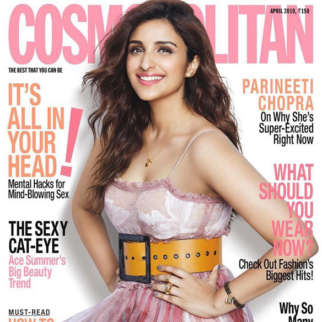 Parineeti Chopra On The Cover Of Cosmopolitan