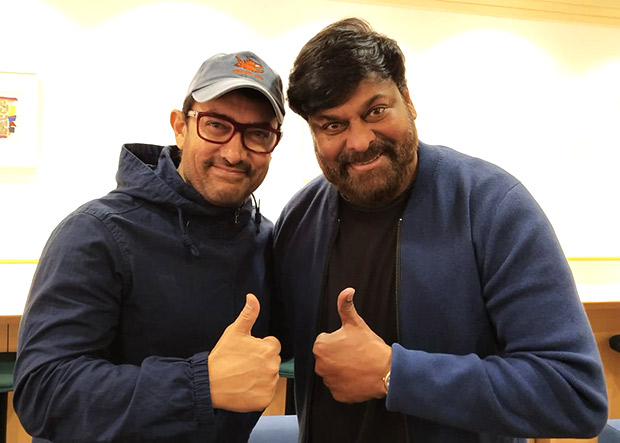 Aamir Khan gets a 'pleasant surprise' in Japan and it is none other than South superstar Chiranjeevi