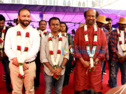 On The Sets from the movie Darbar