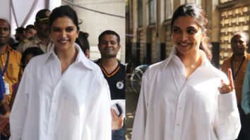 Deepika Padukone VOTES for Lok Sabha Elections 2019