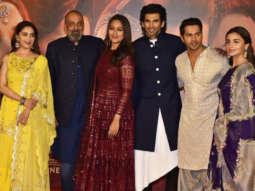 Kalank Trailer Launch Varun Dhawan Alia Bhatt Madhuri Dixit Sanjay Dutt Karan Johar Part 1