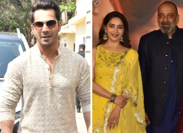 Kalank Trailer Launch: Varun Dhawan can't understand why Madhuri Dixit calls Sanjay Dutt 'sir'