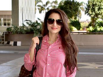 Abhishek Bachchan, Aishwarya Rai Bachchan, Kangana Ranaut and others snapped at the airport