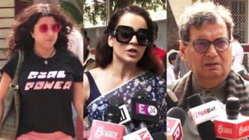 Kangana Ranaut, Zoya Akhtar and other celebs Votes for Lok Sabha Elections 2019