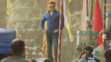 LEAKED VIDEO! Salman Khan shoots for Dabangg 3 title track with 500 dancers at Maheshwar