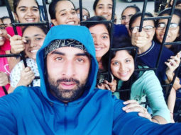 Neetu Kapoor shares an adorable photo of Ranbir Kapoor posing with his female fans