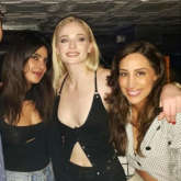 Priyanka Chopra can't stop grooving, Sophie Turner pours drinks after Jonas Brothers perform in Pennsylvania