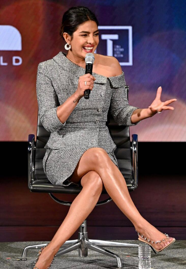 Priyanka Chopra made India proud by joining Oprah Winfrey at the 10th Annual Women In the World Summit!