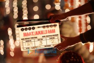 On The Sets from the movie Raat Akeli Hai