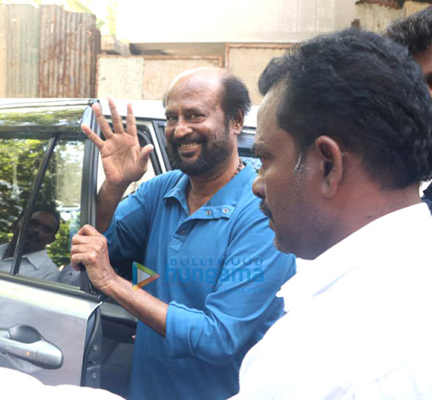 Rajinikanth shoots for Darbar in Mumbai and here's the proof!