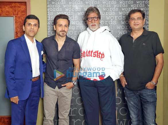 On The Sets from the movie Rumi Jaffrey's Next with Amitabh Bachchan and Emraan Hashmi