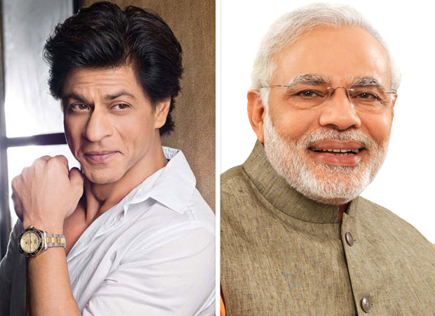Shah Rukh Khan earns praise from honorable Prime Minister Narendra Modi for his rap video on voting!