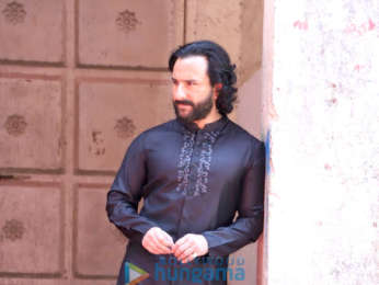 Saif Ali Khan snapped during a photoshoot
