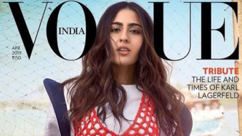 Sara Ali Khan looks gorgeously badass on the recent cover of Vogue magazine