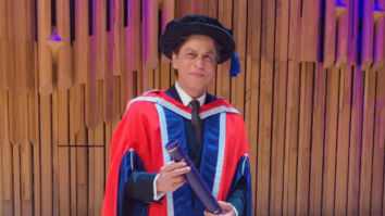 Shah Rukh Khan felicitated with an Honorary Doctorate by The University of Law in London