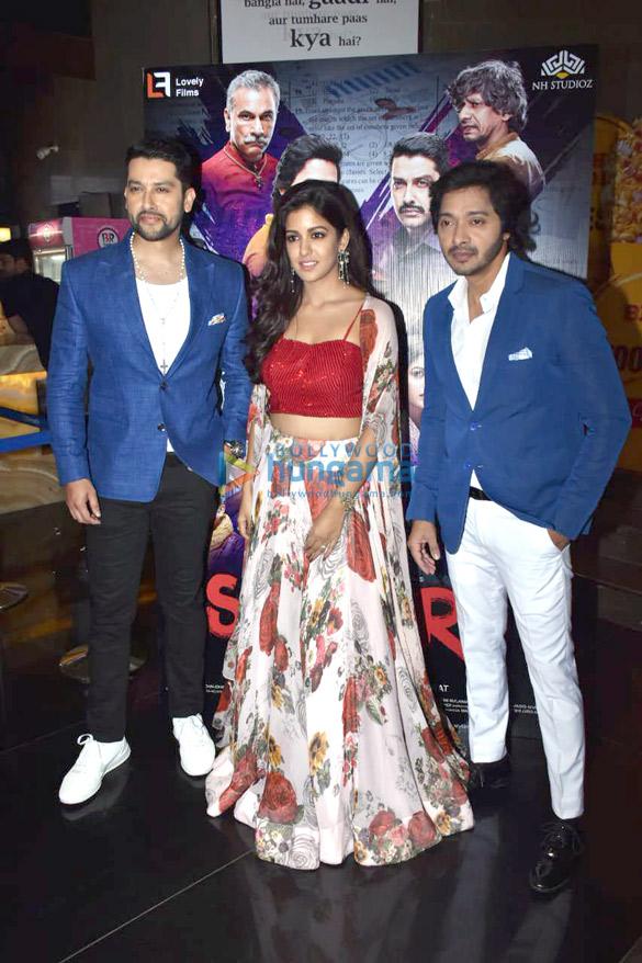 Shreyas Talpade, Ishita Dutta and Aftab Shivdasani grace the trailer launch of the film 'Setters' (1)