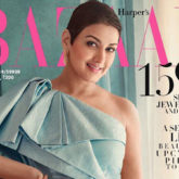 Sonali Bendre shows what it is like being gracefully brave on the cover of Harper's Bazaar India