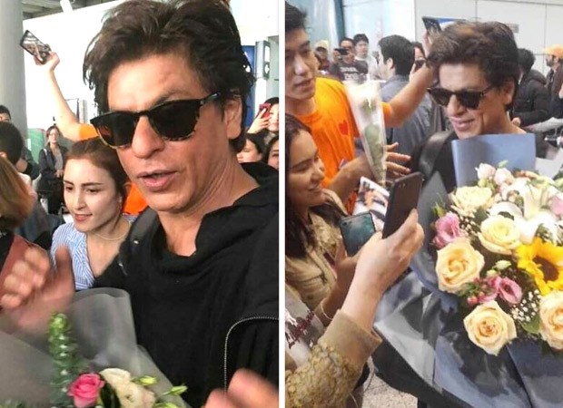 Shah Rukh Khan gets mobbed in China and here's how he reacted to it [watch videos]
