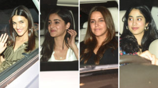 Star studded screening of film Kalank