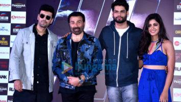 Sunny Deol, Karan Kapadia and Ishita Dutta grace the trailer launch of the film Blank