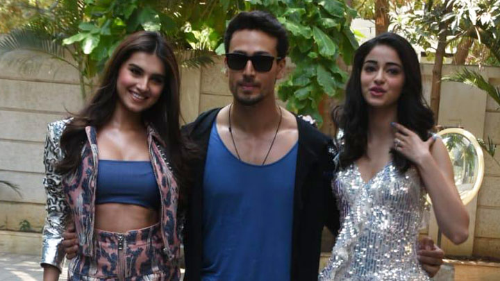 The Jawaani Song Launch- Part 1 Student Of The Year 2 Tiger Shroff Tara Sutaria Ananya Pandey