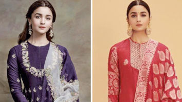 What's Your Pick Alia Bhatt in a purple Anamika Khanna or a red Ekaya
