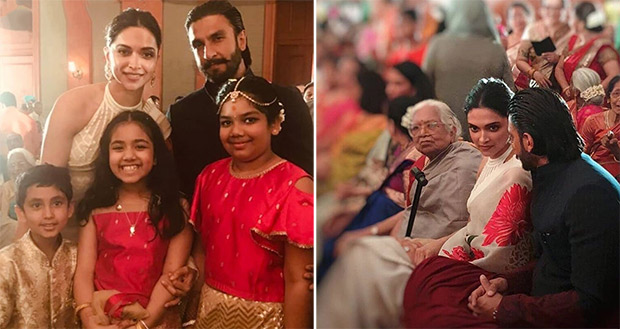 Ranveer Singh and Deepika Padukone attend a wedding in Mumbai and the photos and videos go viral!