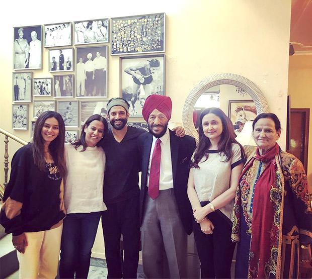 When Milkha called Milkha! Farhan Akhtar visits Milkha Singh in Chandigarh with girlfriend Shibani Dandekar