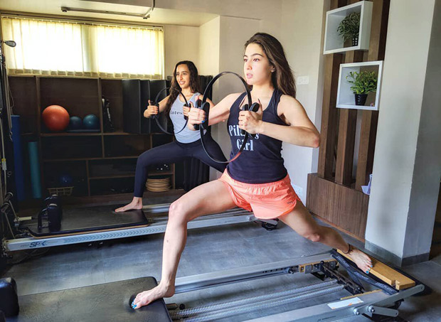 This photo of Sara Ali Khan doing these tough Pilates with ease will make you wanna hit the gym right now!